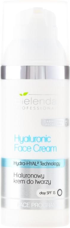 Arckrém hialuronsavval SPF 15 - Bielenda Professional Hydra-Hyal Injection Hyaluronic Face Cream