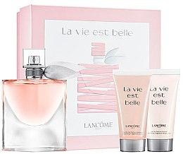 Parfüm, Parfüméria, kozmetikum Lancome La Vie Est Belle - Szett (edp/50ml + sh/gel/50ml + b/lot/50ml)
