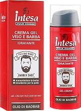 Parfüm, Parfüméria, kozmetikum Arc- és szakállápoló krém-gél - Intesa Gel Cream Face And Beard