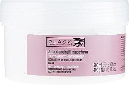 Parfüm, Parfüméria, kozmetikum Korpásodás elleni krém-maszk - Black Professional Line Anti-Dandruff Mask