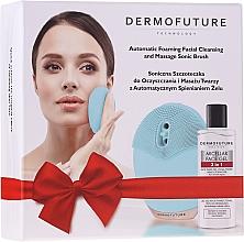 Parfüm, Parfüméria, kozmetikum Szett - DermoFuture (brush/1pcs + f/gel/150ml)