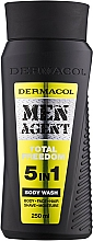 Parfüm, Parfüméria, kozmetikum Tusfürdő - Dermacol Men Agent Total Freedom 5in1 Body Wash