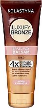 Parfüm, Parfüméria, kozmetikum Önbarnító balzsam világos bőrre - Kolastyna Luxury Bronze Balm