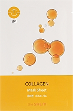 Parfüm, Parfüméria, kozmetikum Bio szövetmaszk - The Saem Bio Solution Firming Collagen Mask Sheet