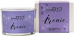 Parfüm, Parfüméria, kozmetikum Organikus gyertya - PuroBio Home Organic Ironic