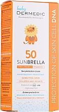 Parfüm, Parfüméria, kozmetikum Napvédő krém gyerekeknek - Dermedic Sunbrella Baby Sun Protection Cream SPF 50+