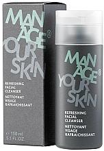 Parfüm, Parfüméria, kozmetikum Frissítő gél arcbőr tisztítására - Dr. Spiller Manage Your Skin Refreshing Facial Cleanser