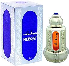 Parfüm, Parfüméria, kozmetikum Al Haramain Meeqat Silver - Olajos parfüm