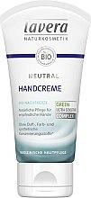 Parfüm, Parfüméria, kozmetikum Kézkrém - Lavera Neutral Green Ultra Sensitive Complex Hand Cream