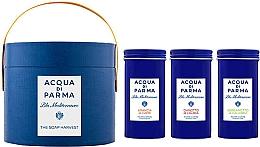 Parfüm, Parfüméria, kozmetikum Acqua di Parma Blu Mediterraneo - Szett (soap/3x70g)