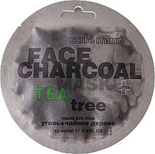 """Parfüm, Parfüméria, kozmetikum Arcmaszk """"Bambuszszén és tea fa"""" - Cafe Mimi Charkoal & Tea Tree Face Mask"""