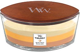Parfüm, Parfüméria, kozmetikum Illatgyertya pohárban - WoodWick Golden Treats Ellipse Candle