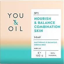 Parfüm, Parfüméria, kozmetikum Tápláló szappan kombinált bőrre - You & Oil Nourish & Balance Combination Skin