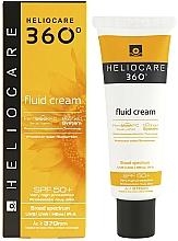 Parfüm, Parfüméria, kozmetikum Napvédő krém-fluid minden bőrtípusra - Cantabria Labs Heliocare 360º Fluid Cream SPF 50+ Sunscreen