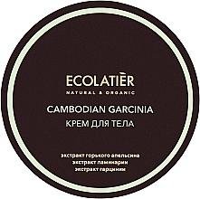 """Parfüm, Parfüméria, kozmetikum Narancsbőr elleni testrkém """"Kambodzsai garcinia"""" - Ecolatier Cambodian Garcinia Body Cream"""