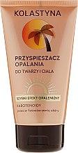 Parfüm, Parfüméria, kozmetikum Napozást elősegítő tej testre - Kolastyna Sun Tan Accelerator
