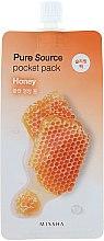 Parfüm, Parfüméria, kozmetikum Éjszakai arcmaszk méz kivonattal - Missha Pure Source Pocket Pack Honey