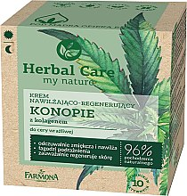 "Parfüm, Parfüméria, kozmetikum Arckrém ""Kender kollagénnel"" - Farmona Herbal Care"
