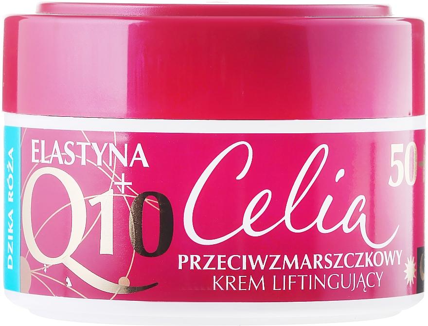 Krém lifting hatással vadrózsa - Celia Q10 Face Cream 50+