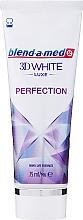 """Parfüm, Parfüméria, kozmetikum Fogkrém """"Luxe"""" - Blend-a-med 3D White Luxe Perfection"""