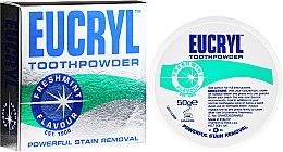 Parfüm, Parfüméria, kozmetikum Fogpor - Eucryl Toothpowder Freshmint