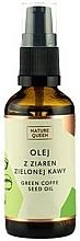 "Parfüm, Parfüméria, kozmetikum Kozmetikai olaj ""Zöldkávő szemek"" - Nature Queen Green Coffe Sead Oil"