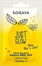 Parfüm, Parfüméria, kozmetikum Fénylő hatású hámlasztó maszk - Soraya Just Glow