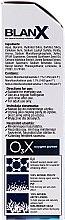 Fehírítő fogkrém - BlanX O3X Oxygen Power Pro Shine Whitening Toothpaste — fotó N2