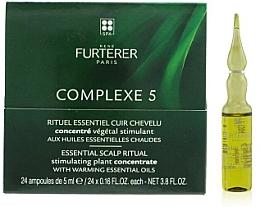 Parfüm, Parfüméria, kozmetikum Gyógyító-megelőző komplexum fejbőrre - Rene Furterer Complexe 5 Essential Scalp Ritual Stimulating Plant Concentrate With Warming Esential Oils