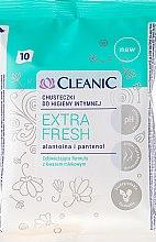 Parfüm, Parfüméria, kozmetikum Intim törlőkendő, 10db - Cleanic Intensive Care Wipes