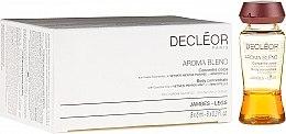 Parfüm, Parfüméria, kozmetikum Lábápoló erősítő szérum - Decleor Aroma Blend Body Concentrate Legs