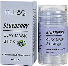 """Parfüm, Parfüméria, kozmetikum Maszk stift arcra """"Blueberry""""  - Melao Blueberry Clay Mask Stick"""