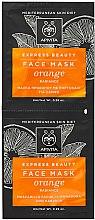 Parfüm, Parfüméria, kozmetikum Tápláló maszk naranccsal - Apivita Express Beauty Radiance Face Mask