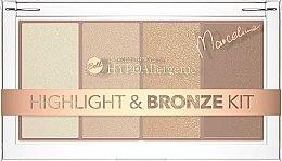 Parfüm, Parfüméria, kozmetikum Bronzosító és highlighter - Bell HYPOAllergenic Highlight & Bronze Kit by Marcelina