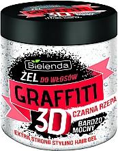 Parfüm, Parfüméria, kozmetikum Hajzselé mezei mustárral - Bielenda GRAFFITI 3D Extra Strong Stayling Hair Gel