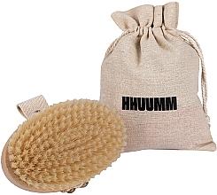 Parfüm, Parfüméria, kozmetikum Masszázs- és fürdőkefe, puha sörtével, világosbarna - Hhuumm № 3