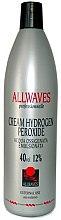 Parfüm, Parfüméria, kozmetikum Krém oxidáns - Allwaves Cream Hydrogen Peroxide 12%