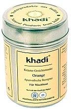 """Parfüm, Parfüméria, kozmetikum Gyógynövénymaszk az arc és test számára """"Orange"""" - Khadi"""