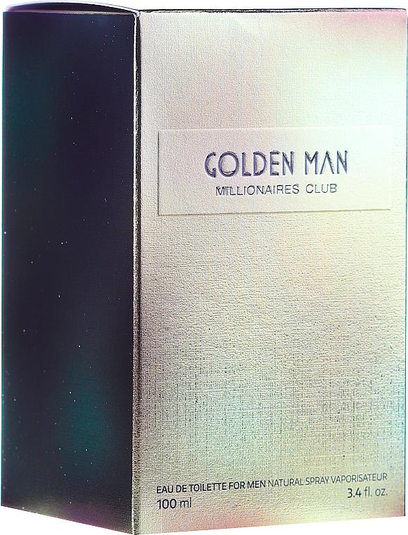 Vittorio Bellucci Golden Man - Eau De Toilette