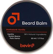 Parfüm, Parfüméria, kozmetikum Szakállbalzsam - Beviro Beard Balm Vanilla, Palo Santo, Tonka Boby