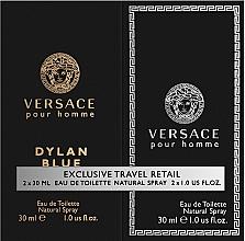 Parfüm, Parfüméria, kozmetikum Versace Dylan Blue Pour Homme - Szett (edt/30ml + edt/30ml)