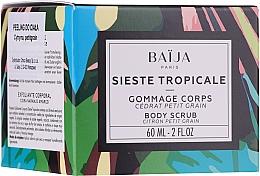 Parfüm, Parfüméria, kozmetikum Bőrhámlasztó - Baija Sieste Tropicale Body Scrub