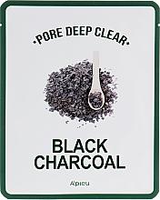Parfüm, Parfüméria, kozmetikum Pórustisztító anyagmaszk fekete szénnel - A'pieu Pore Deep Clear Black Charcoal Mask