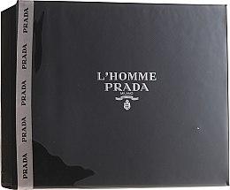 Parfüm, Parfüméria, kozmetikum Prada L'Homme Prada - Szett (edt/50ml + sh/g/100ml)