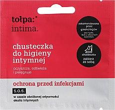 Parfüm, Parfüméria, kozmetikum Antibakteriális intim kendő 1 db - Tolpa Intima