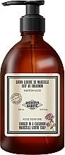 Parfüm, Parfüméria, kozmetikum Folyékony szappan - Institut Karite Rose So Vintage Marseille Liquid Soap
