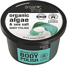 "Parfüm, Parfüméria, kozmetikum Testradír ""Atlanti algák"" - Organic Shop Body Scrub Organic Algae & Sea Salt"