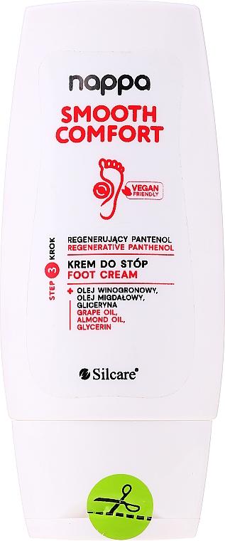 Lábkrém - Silcare Nappa Regenerative Panthenol Foot Cream