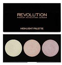 Parfüm, Parfüméria, kozmetikum Highlighter paletta - Makeup Revolution Highlight Palette