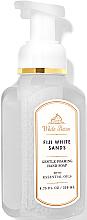 "Parfüm, Parfüméria, kozmetikum Szappan-hab kézre ""Fiji White Sands"" - Bath and Body Works White Barn Fiji White Sands Gentle Foaming Hand Soap"